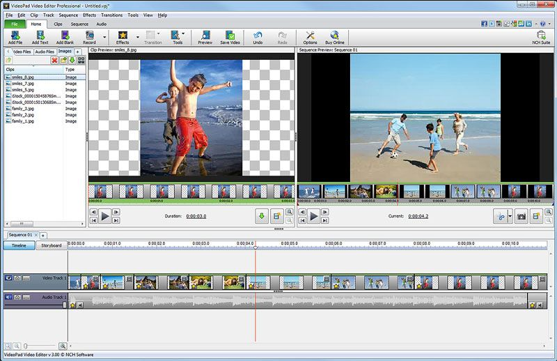 VideoPad is a full featured, professional, video editing application which allows you to create movie projects from various video clips or a single video file. It also allows you to import a wide variety of audio and video file formats including .avi, .wmv, .3gp, .wmv, .divx and many others. VideoPad Features: Stunning Transition Effects: * Fade transition effect gives your movie that professional touch. * Preview the effects in real time. Customize the duration of the effect. Complete Video…