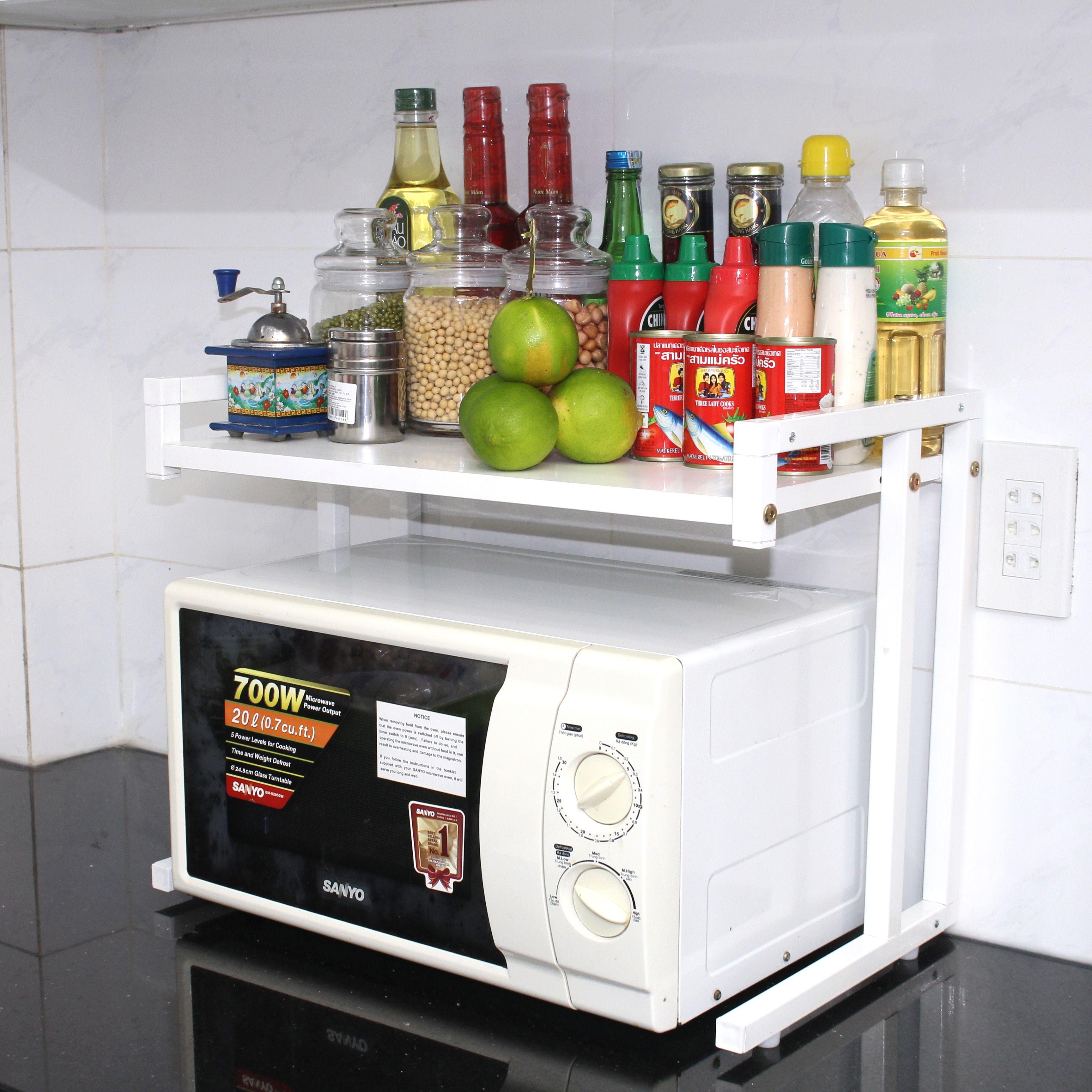Kệ lò vi sóng 1 tầng noithatsongngan.com | Bếp, Kệ bếp, Lò vi sóng