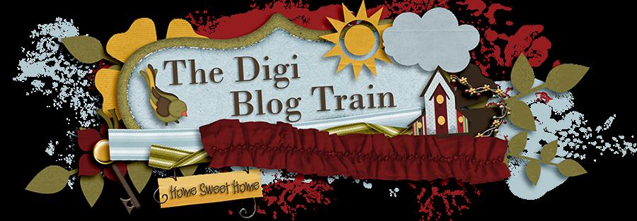The Digi Blog Train Scrapbook Blogs Pinterest Scrapbook