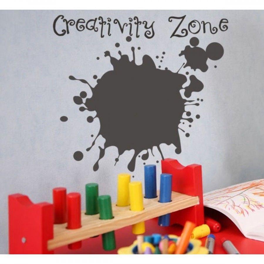 Alphabet garden designs chalkboard creative wall decal art baby