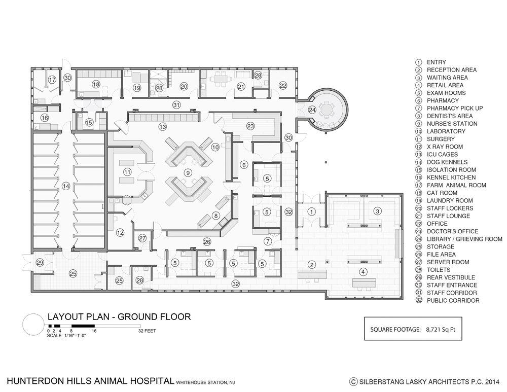 Floor Plan Hospital Design Building A Vet Practice