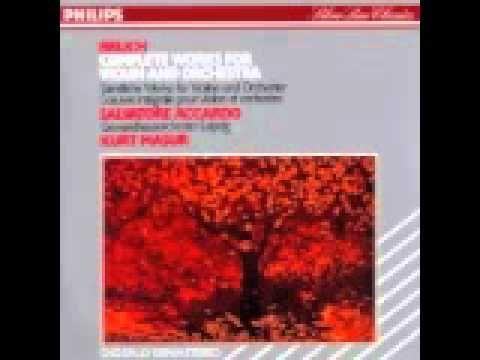 Bruch Konzertstuck In Fis Moll Mvt 1 Op 84 Music Love