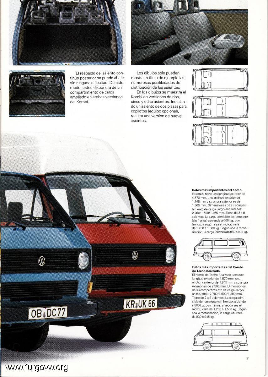 la t3!!el transporter y el microbús de volkswagen | Carrito ...