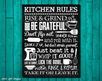 Superior Kitchen Decor. Kitchen Utensil Decor. Kitchen Wall Art. Funny