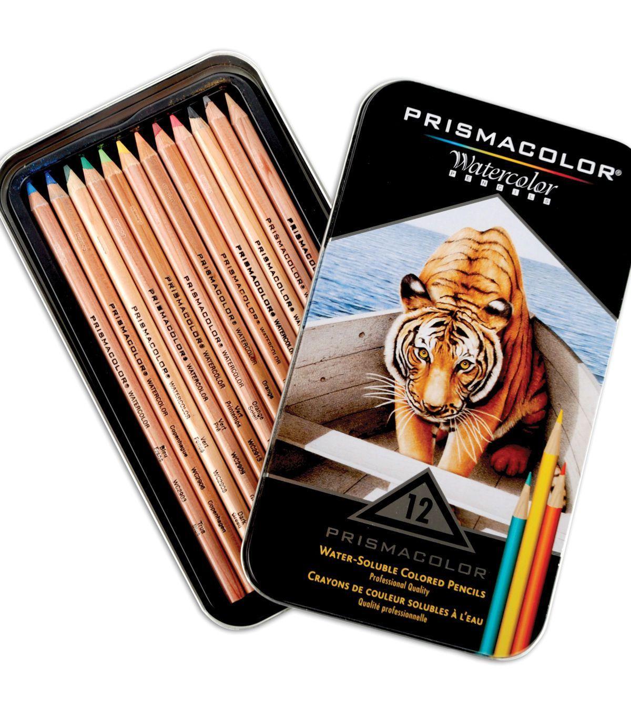 Prismacolor Watercolor Pencils 12 Pkg Prismacolor Watercolor