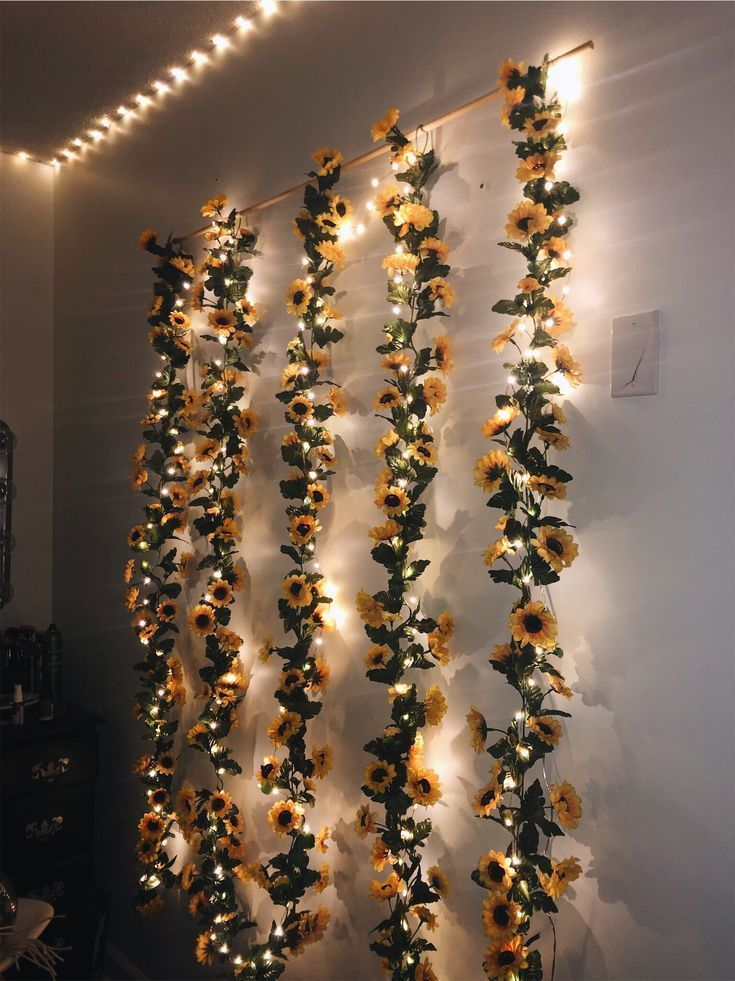 Sunflower wall decor – #cutedormrooms Sunflower wall decor – #Decor #Sunflower #…