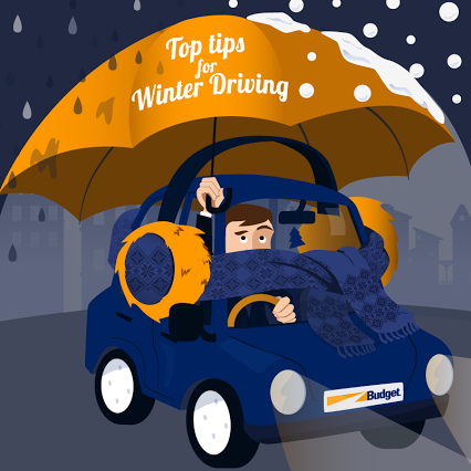 Brrr… it's cold outside! With the weather expected to change this weekend here are our top tips for winter driving! #WinterRoadSafety  1. Reduce your speed 2. Plan extra time to complete your journey  3. Keep a safe distance from the car in front of you  4. Use your dipped headlights day and night  5. Use your breaks gently  6. Listen to the weather forecast