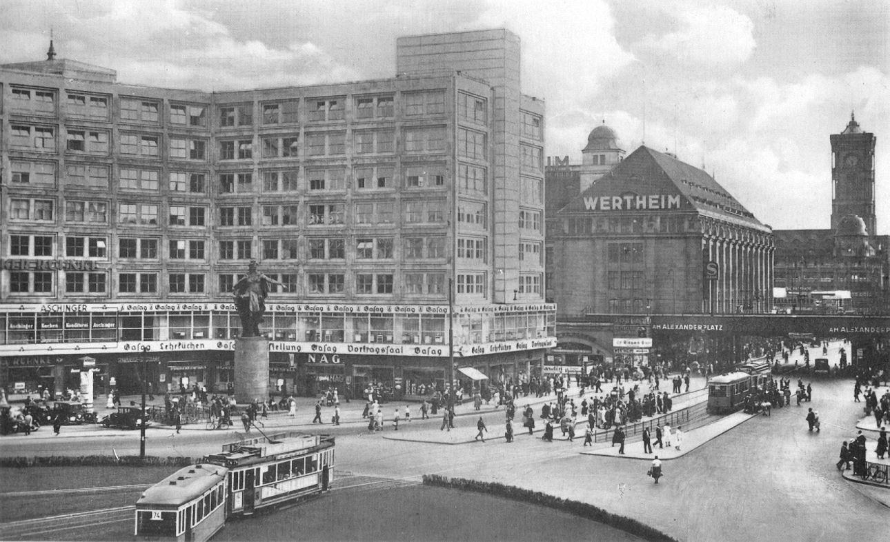 Berlin Alexanderplatz 1937 Berlin Geschichte Berlin Alexanderplatz Geschichte