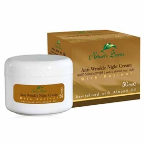 Nature S Secret Anti Wrinkle Night Cream 50ml For Fresher Clearer Youthful Skin Sri Lanka Mall Anti Wrinkle Night Cream Night Creams Nature Secret