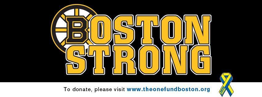 Boston Strong   Boston strong, Boston bruins, Bruins