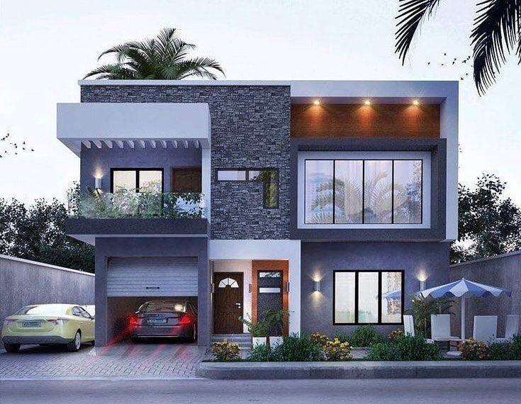 Home Facade On Instagram Luxury Homedecor Design Designer Instahome Instadesign Arc Bungalow House Design House Designs Exterior Duplex House Design