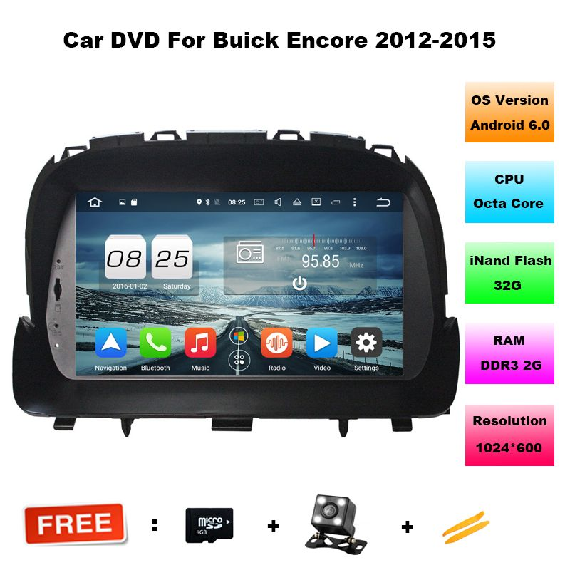 Octa Core 8 Android 6 0 Car Dvd Player For Buick Encore Opel