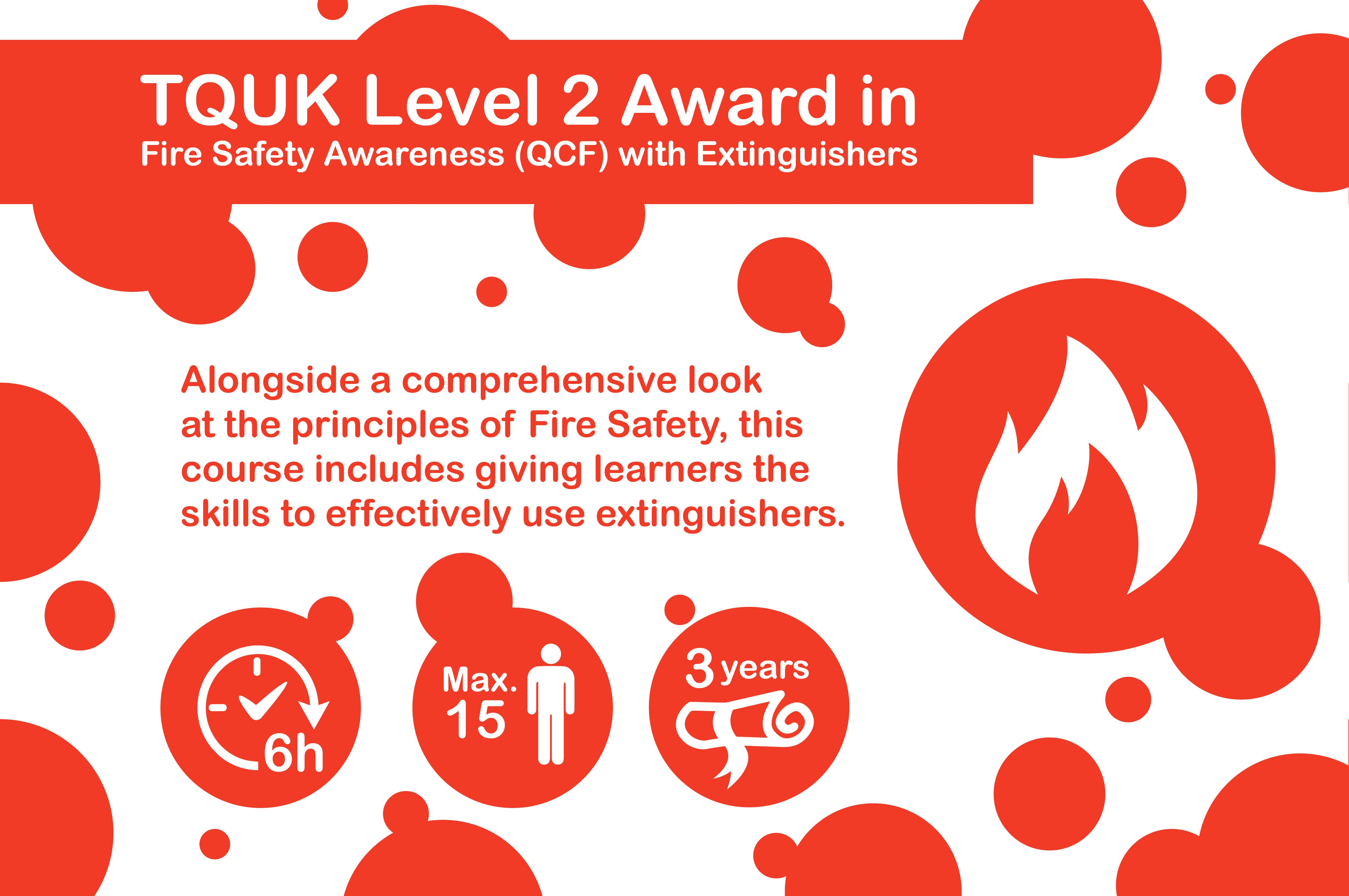 TQUK Level 2 Award in Fire Safety Principles (QCF) with