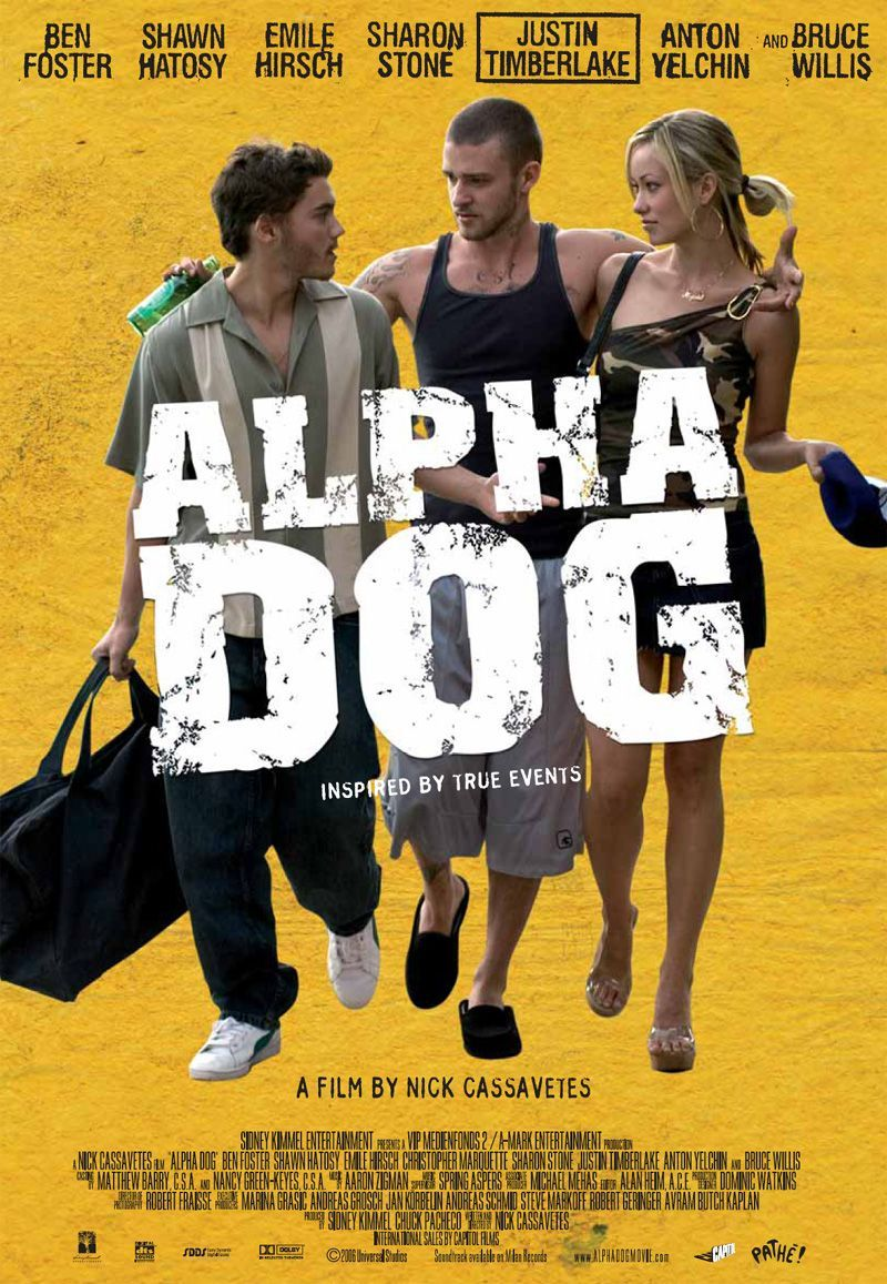 Alpha Dog Filmes Pôsteres De Filmes Cinema