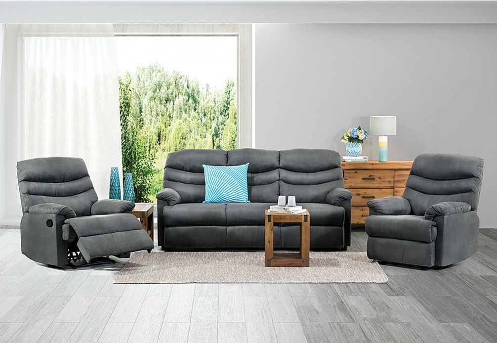 Sheridan Fabric Recliner Suite Furniture Lounge Suites Home Furniture