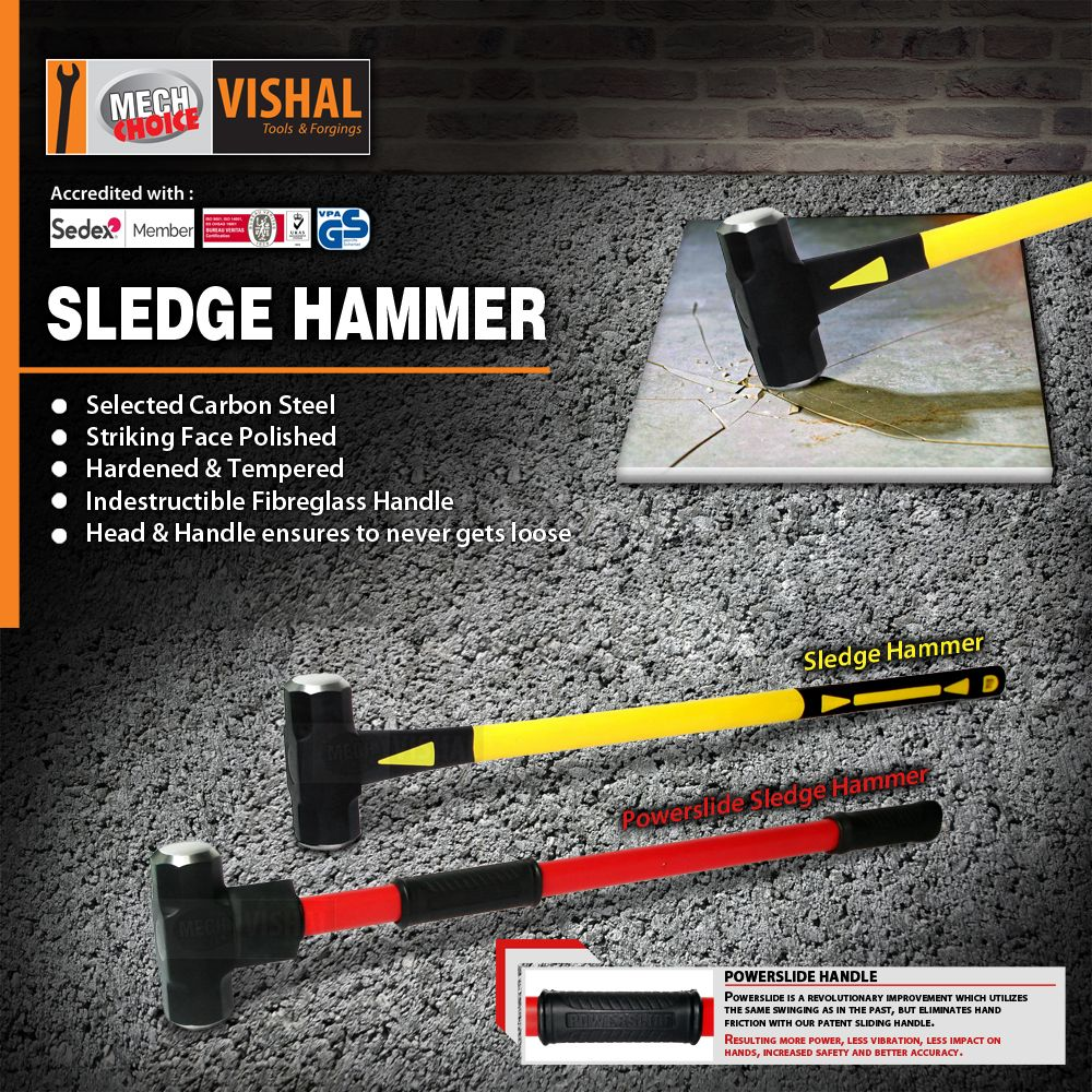 These Hammers Are Ideal For Demolition Of Concrete Tile And Drywall The Head