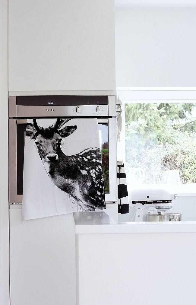 Deko mit Küchentuch Foto Sabine Wittig ideen für die küche - deko f r die k che