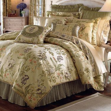 Touch Of Class Iris Comforter Bedding Sets By Croscill Comforter Sets Croscill Bedding