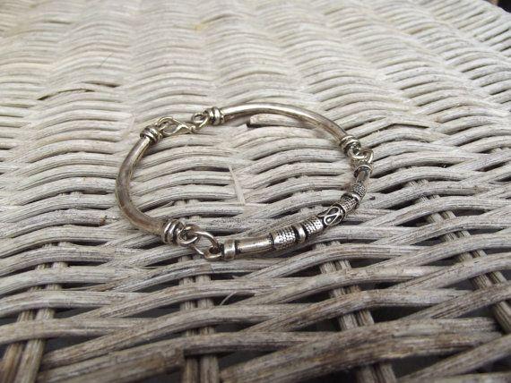 Männer Silber Armband Silber Armband von silveringjewelry auf Etsy