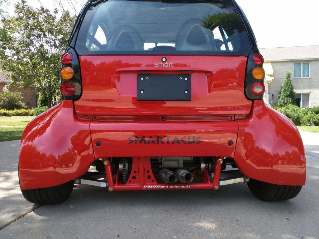 Smart Car With Hayabusa Engine >> Smart Fortwo Smartacus With A Hayabusa Inline Four Smart