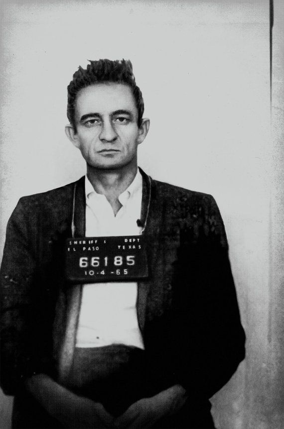 Johnny Cash Mugshot Poster Print Photograph Mug Shot Photo Etsy Photo Print Poster Johnny Cash Mug Shots