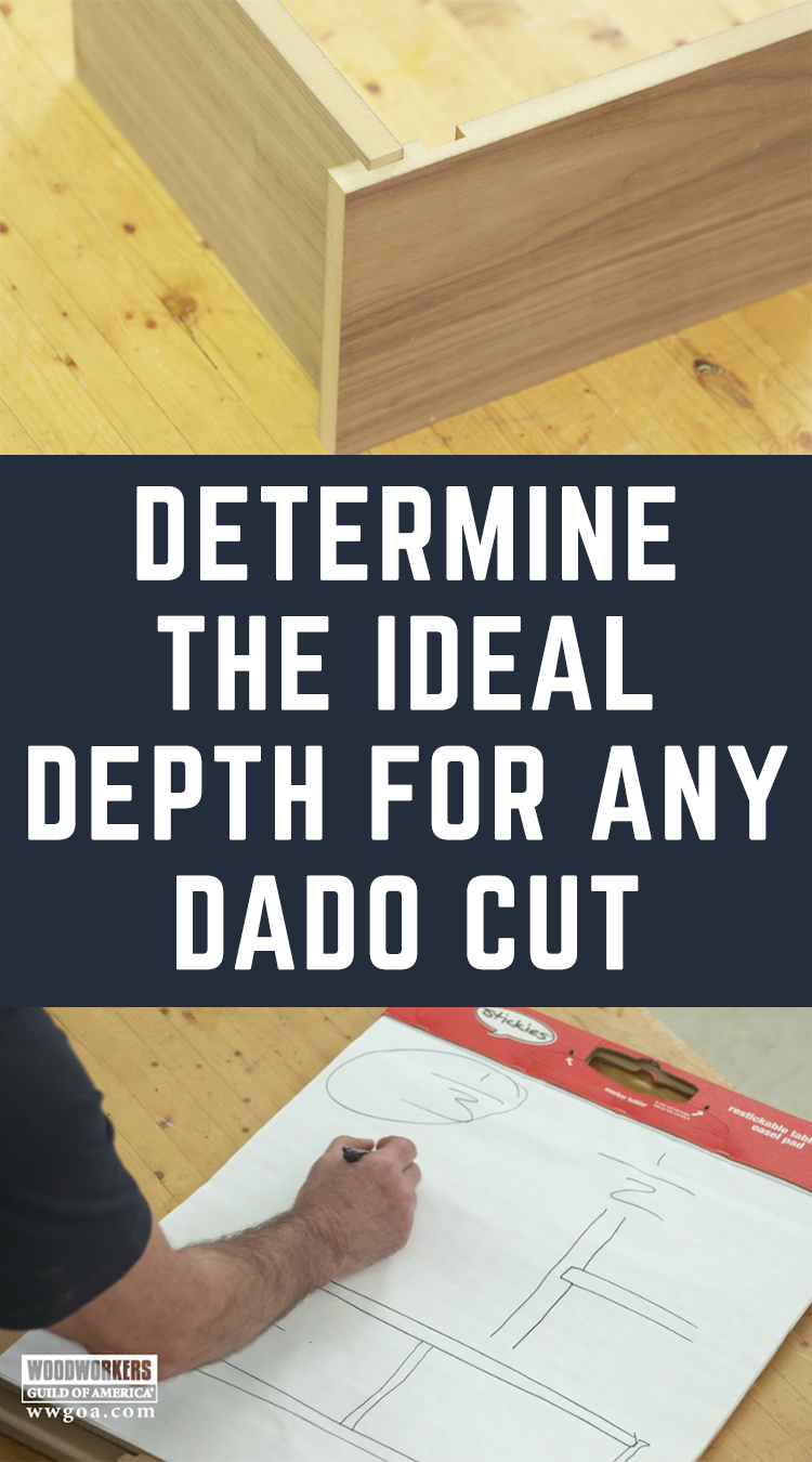 Dado Depth