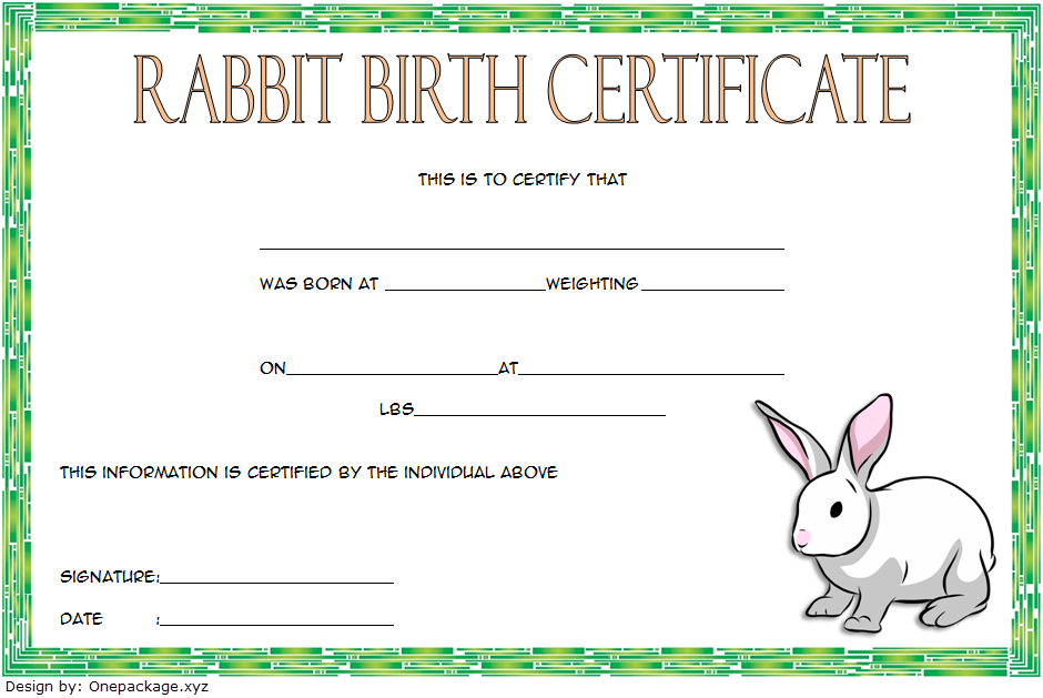 Free Birth Certificate Template from i.pinimg.com