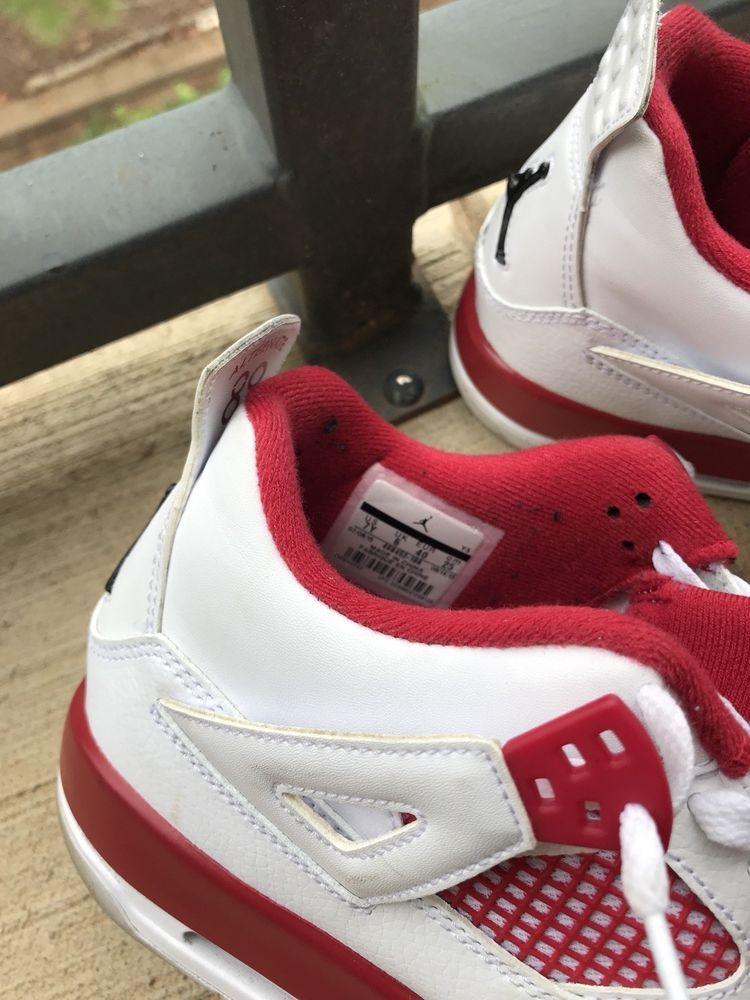 2ef12e80516f6e Nike Air Jordan 4 Alternate As. 7Y  fashion  clothing  shoes  accessories   mensshoes  athleticshoes (ebay link)