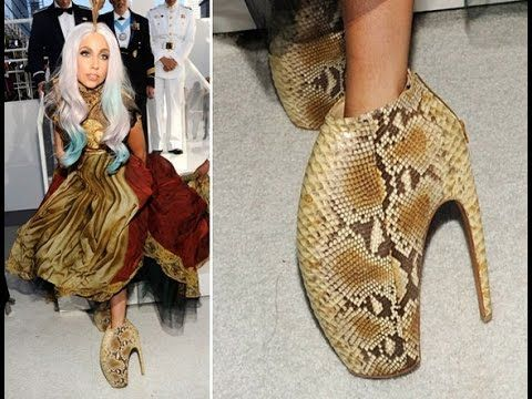 Lady gaga shoes, Celebrity shoes