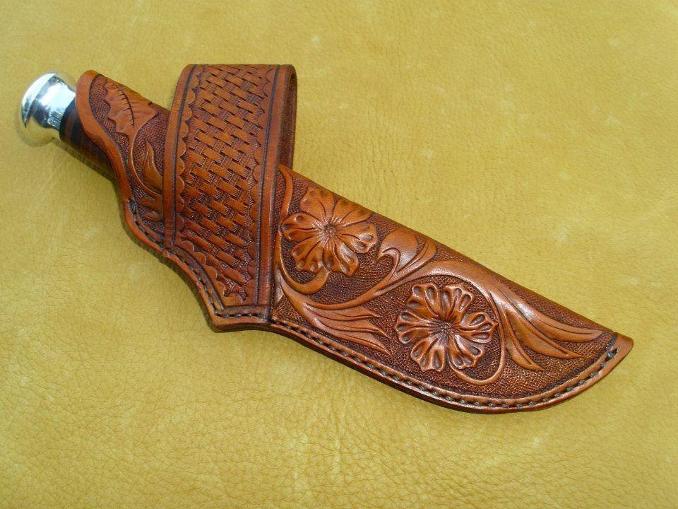 Leather Sheath Drawings Knife Sheath Leather Knife