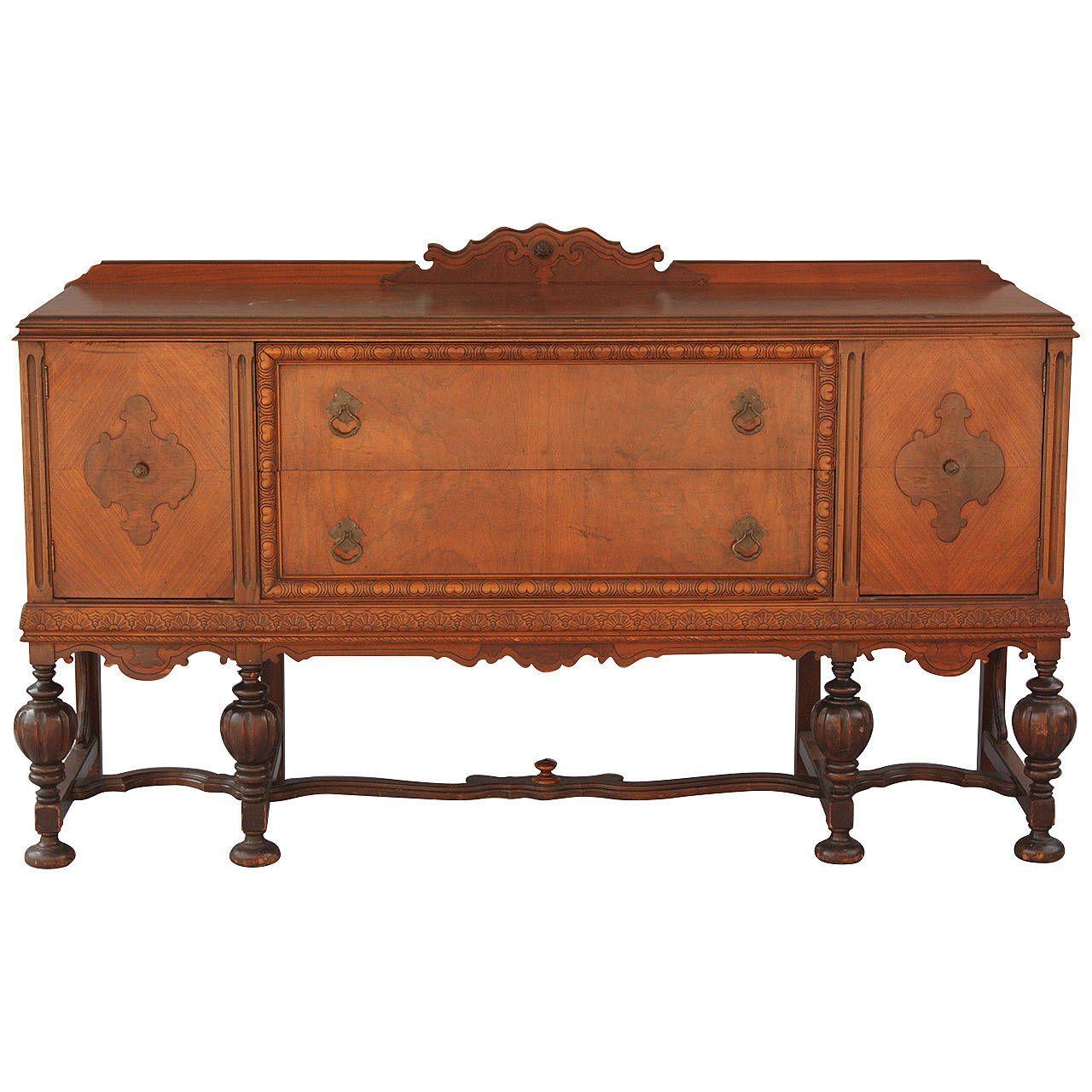 Elegant Spanish Revival Sideboard Spanish Revival