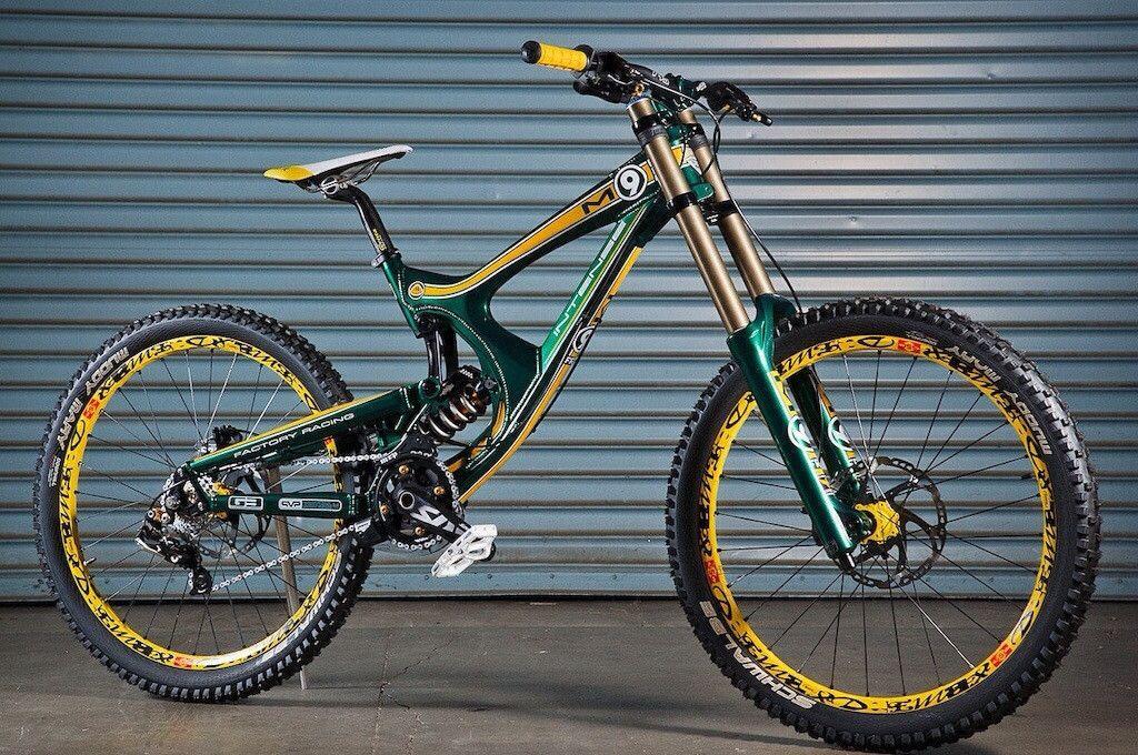 Lotus F1 style downhill mountain bike is beastly.   Two wheel fun ...