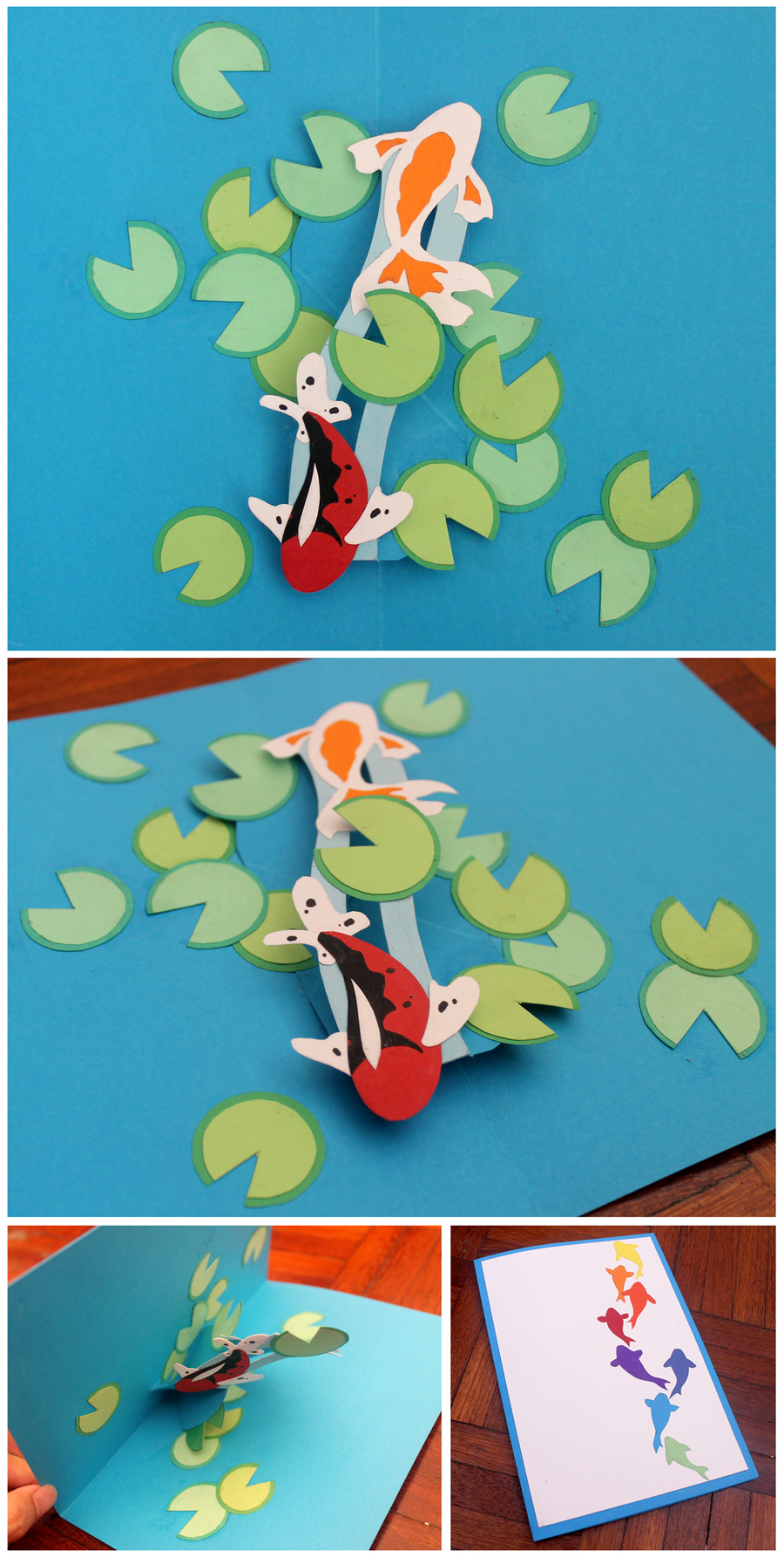 Feeling zen by endless-whispers.deviantart.com  love this playful design. alas paper craft is not one of my skills