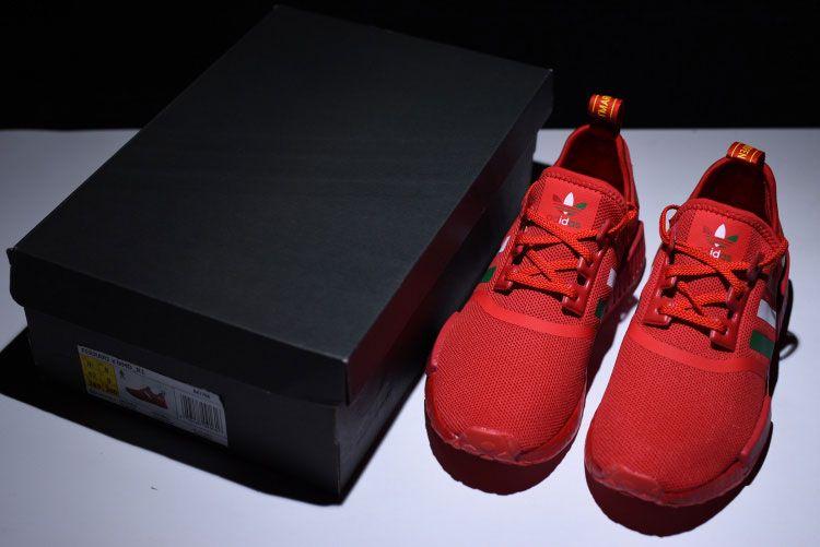 Ferrari x Adidas nmd r1 boost sneakers