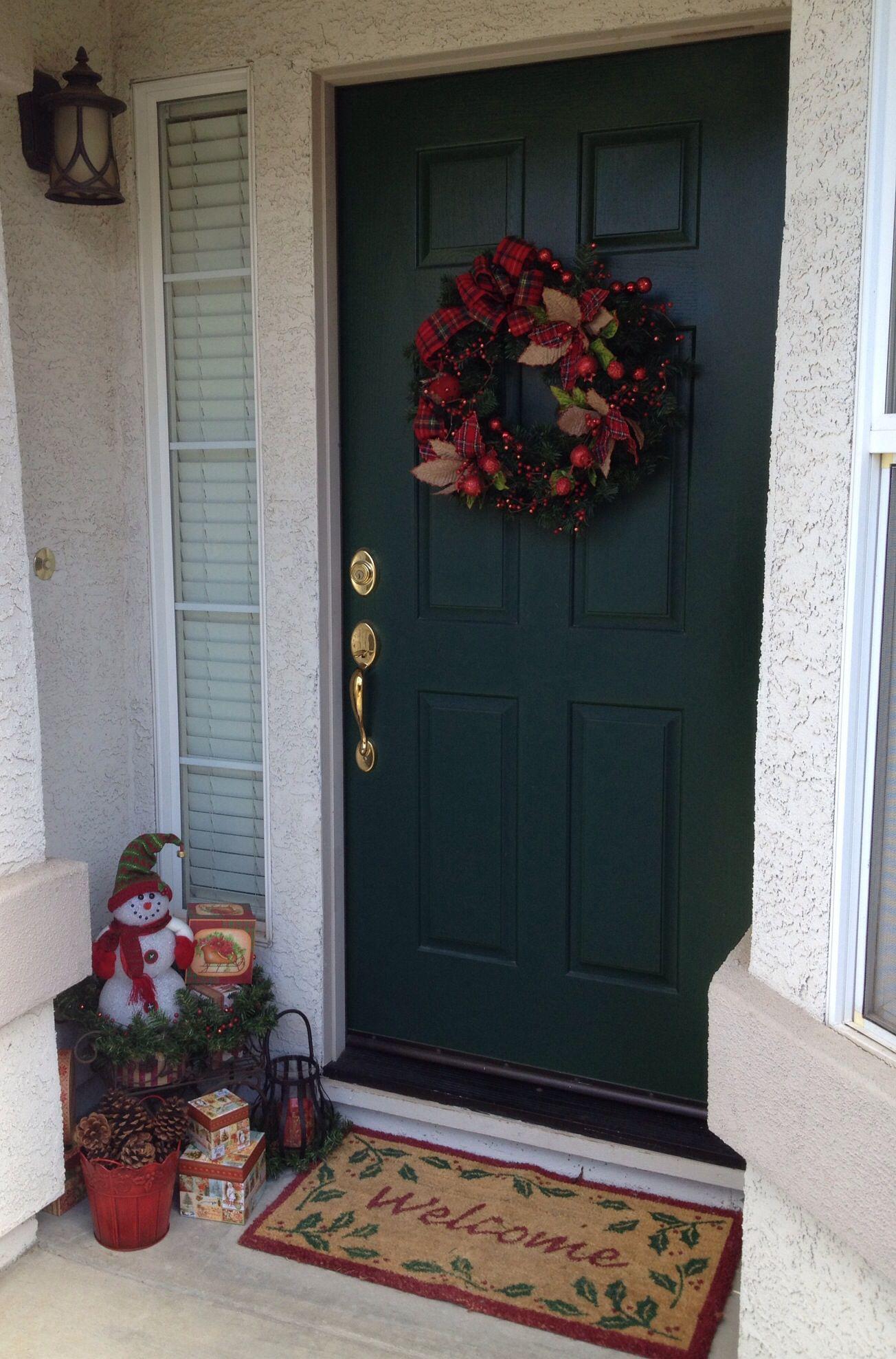2013 Christmas Front Porch decor