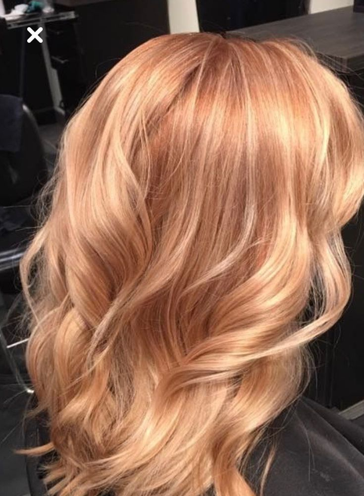 My ideal hair color -  #color #Hair #ideal #copperbalayage