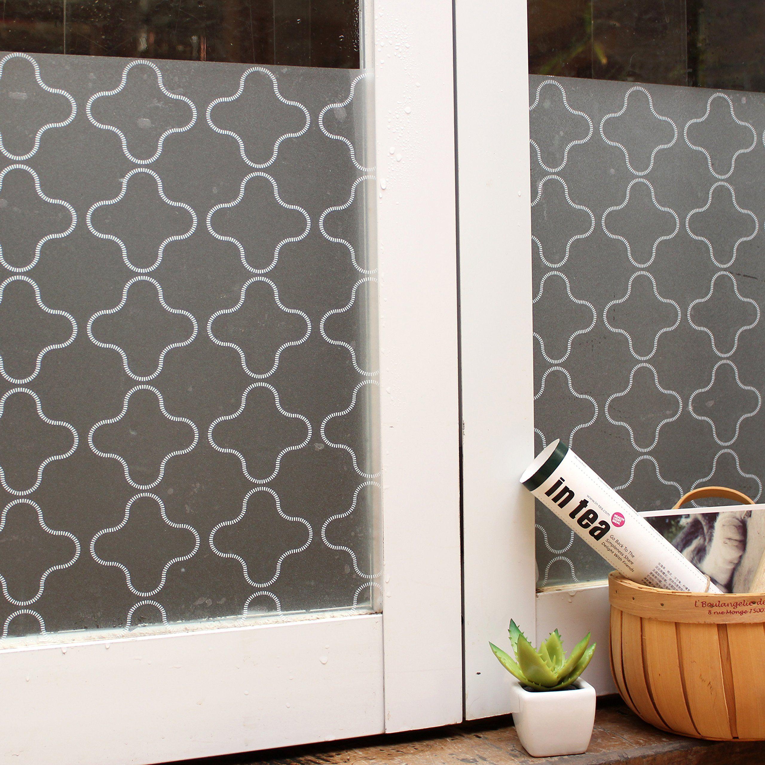 Fensterfolie Sichtschutzfolie 3D statisch haftend