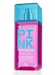 Fresh & clean pink perfume! the daily...so clean smelling i love it :)
