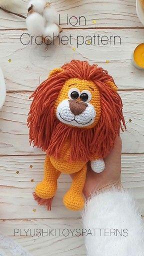 Photo of Lion (crochet pattern)