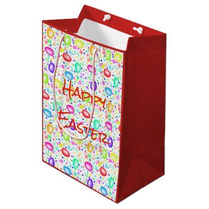 Easter gift bag happy easter happy easter egg holiday family diy easter gift bag happy easter happy easter egg holiday family diy custom personalize negle Image collections