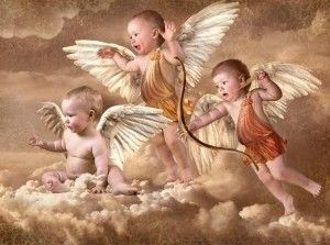 Angelitos Bebes Wallpaper Querubines Cruces Pintadas Angel