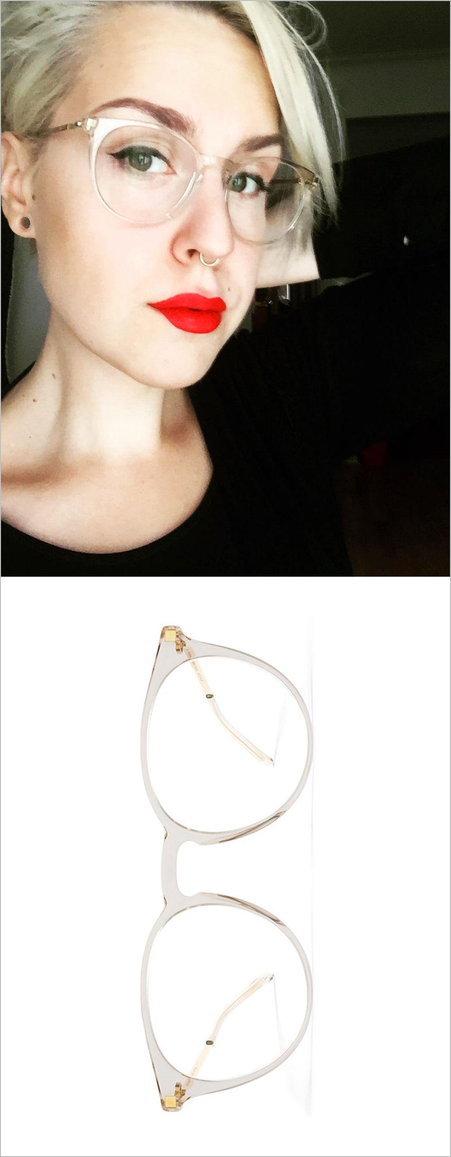 (IG) Jonnatiainen wearing her MYKITA round clear