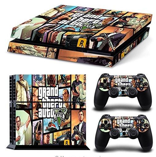 Gta Skin Sticker For Ps4 Ps4 Pro Console Ps4 Console Ps4 Skins