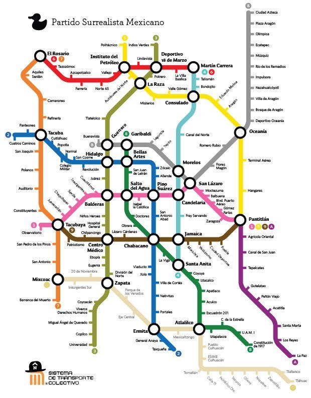 Image result for ciudad de mexico metro mapa