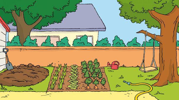 photos coloriage jardin potager page 7 coloriage du potager pinterest. Black Bedroom Furniture Sets. Home Design Ideas