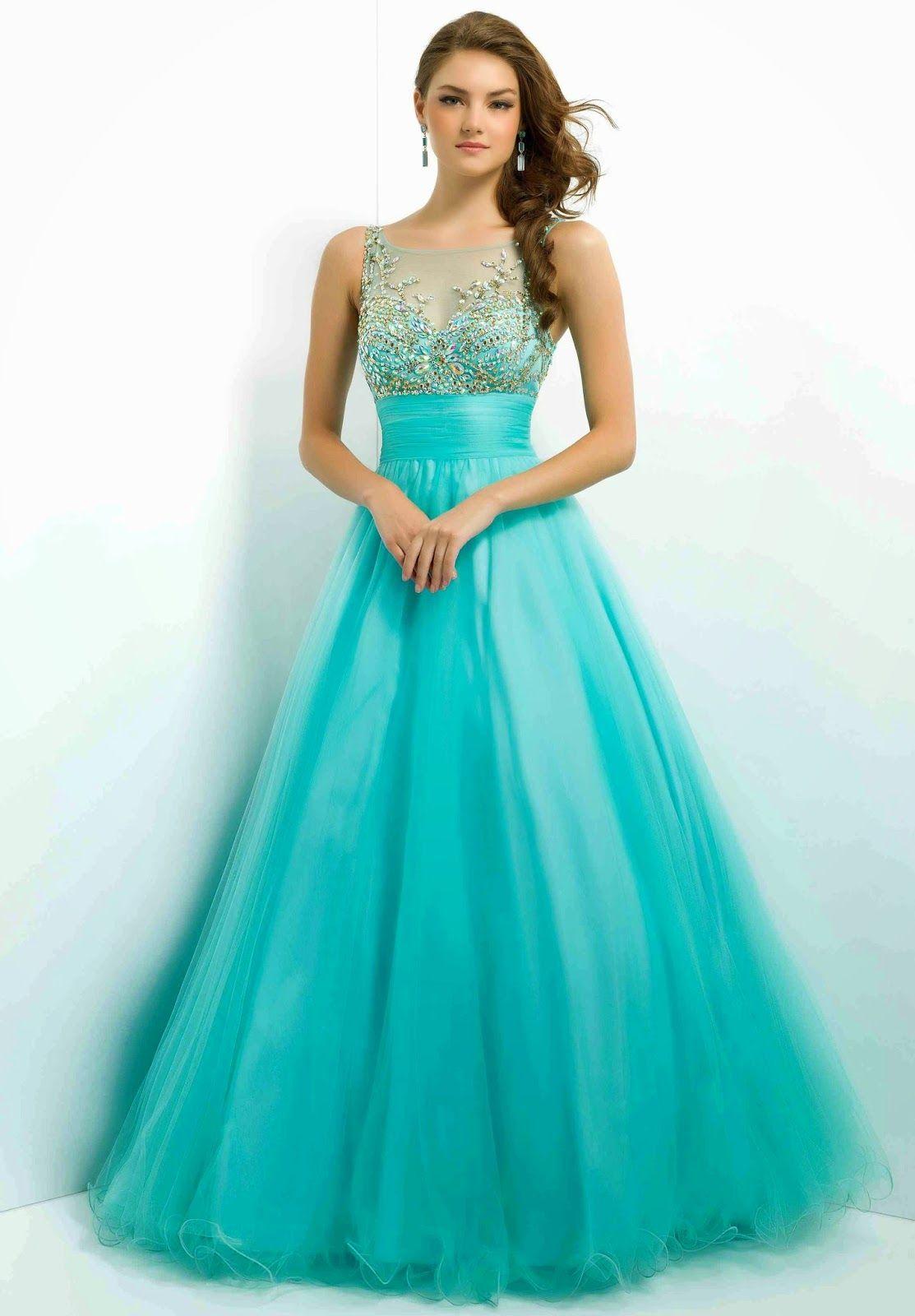 Grandiosos vestidos largos de gala | Especial vestidos de fiesta ...
