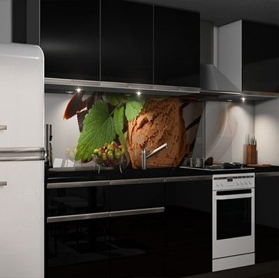 Klebefolie Küchenrückwand Möbel \ Wohnen Kuechenrueckwand Folien - spritzschutz küche folie