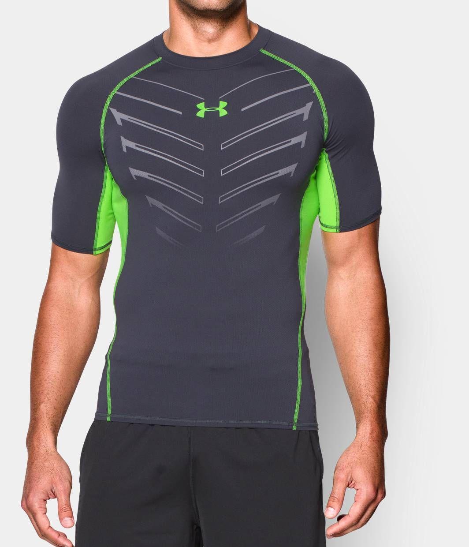 Men's UA HeatGear® Armour Exo Short Sleeve Compression Shirt | Under Armour  US