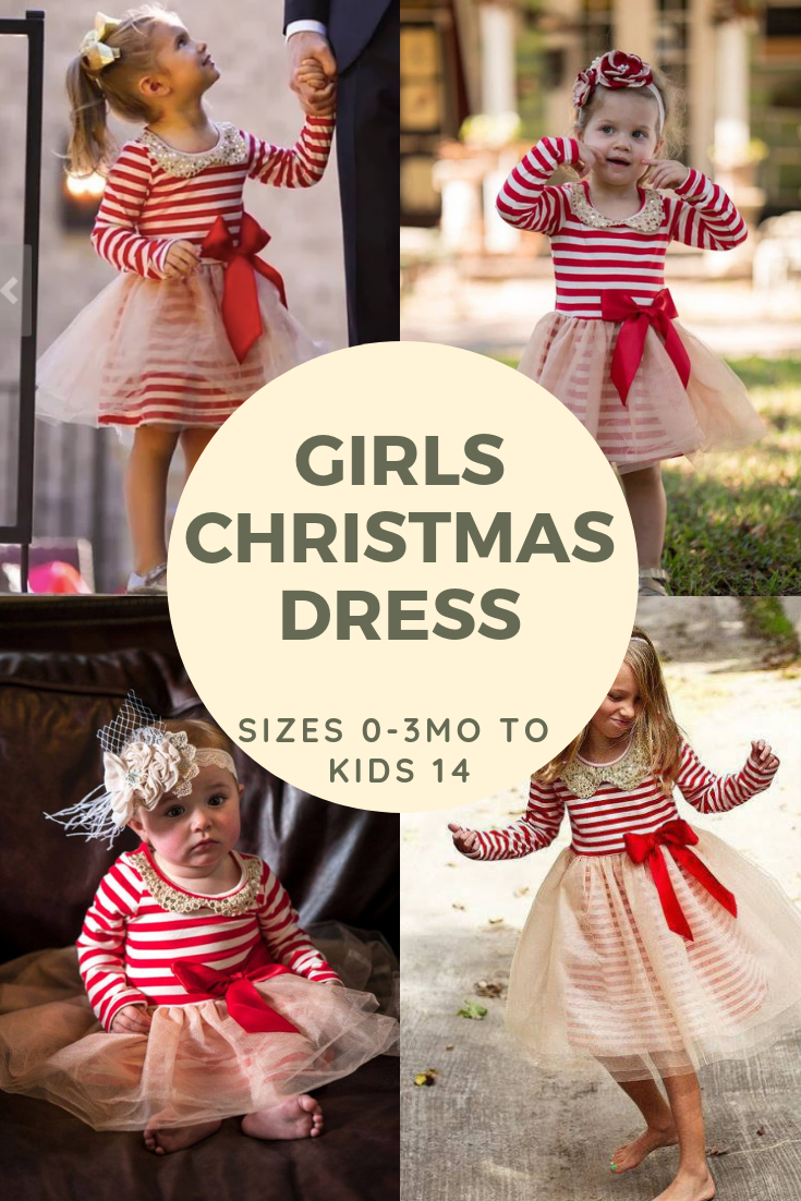 5b691811fc90 girls dress with pockets sew matching christmas dresses for sisters ...