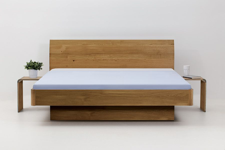 Bett Wildeiche u20ac1300 Home Pinterest Bett, Einzelbetten und - modernes designer doppelbett holz